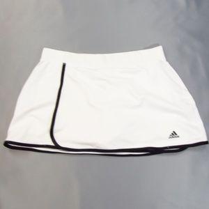 Adidas Climalite White Front Wrap Skort